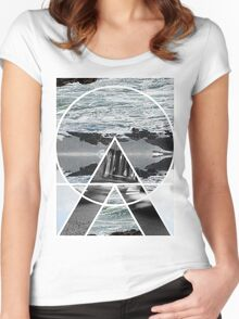 THIS SCAPE NEW TEE* Women's Fitted Scoop T-Shirt