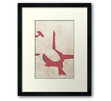 Latias Framed Print