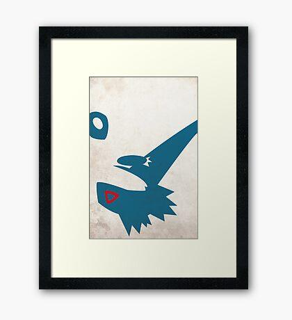 381 Framed Print