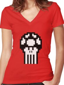 The Punishroom Women's Fitted V-Neck T-Shirt