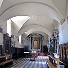 church interior volterra by Anne Scantlebury