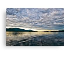 Sunrise on Lake George Canvas Print