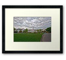 Sagamore Resort, Lake George NY Framed Print