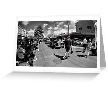 Pedestrian Greeting Card