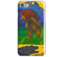 What is the Lion King afraid of?  iPhone Case/Skin