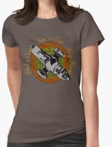 Keep Flying Womens Fitted T-Shirt