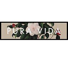 Pura Vida - Life Photographic Print
