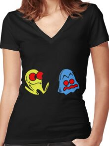The Chase Women's Fitted V-Neck T-Shirt
