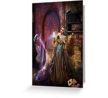 Enchanted Seamstress Greeting Card
