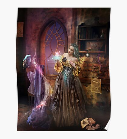 Enchanted Seamstress Poster