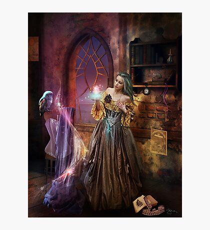 Enchanted Seamstress Photographic Print