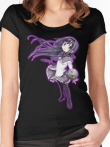 Homura Akemi (rev. 2) Women's Fitted Scoop T-Shirt