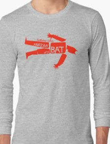 ANATOMY OF A BAT Long Sleeve T-Shirt