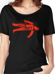 ANATOMY OF A BAT Women's Relaxed Fit T-Shirt