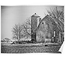 Beautiful old Wisconsin Barn Poster