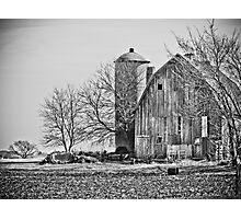 Beautiful old Wisconsin Barn Photographic Print