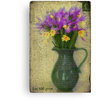 French Bouquet Canvas Print