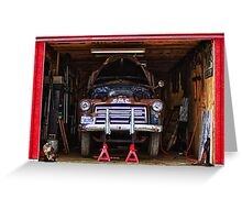 Service | Garage Greeting Card