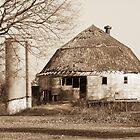 The Dougan Round Barn in Beloit, Wisconsin by Marcia Rubin