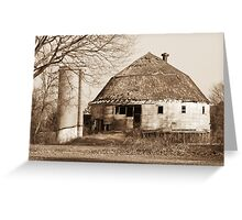 The Dougan Round Barn in Beloit, Wisconsin Greeting Card
