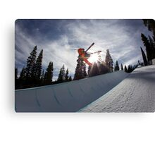 Piped Canvas Print