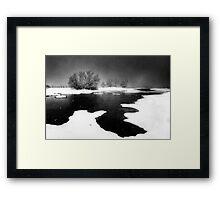 Snoasis Framed Print
