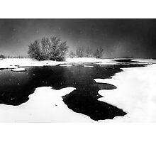 Snoasis Photographic Print
