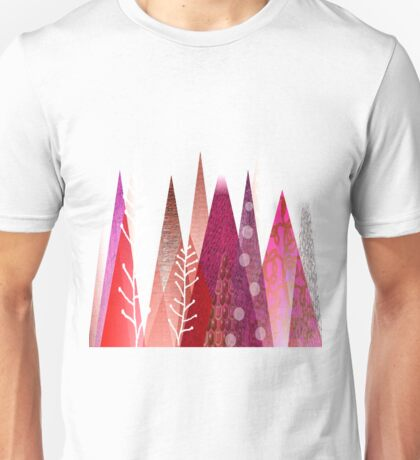 Solitude of Red Trees Unisex T-Shirt
