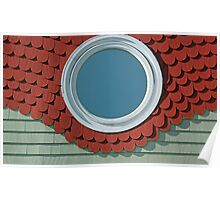 Red Shingles Poster