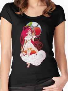 Kyoko Sakura - Nouveau edit. Women's Fitted Scoop T-Shirt