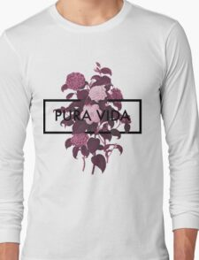 Pura Vida Flowers Long Sleeve T-Shirt