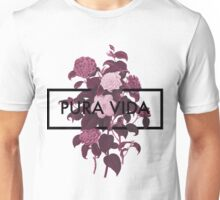Pura Vida Flowers Unisex T-Shirt