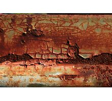Chunk of Rust Found on Old Bedford Photographic Print