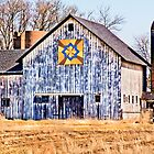 Patchwork Quilt Barn  by Marcia Rubin