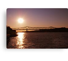 Harris Riverfront  Canvas Print