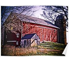 Big Red Wisconsin Barn  Poster