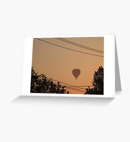 Morning Flight - Melbourne, Australia Greeting Card