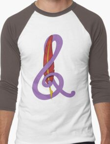 Treble Quill Shirt (Beta) Men's Baseball ¾ T-Shirt