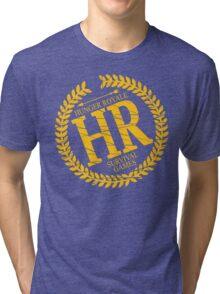HR SURVIVAL GAMES Tri-blend T-Shirt
