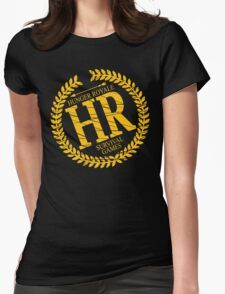 HR SURVIVAL GAMES Womens Fitted T-Shirt