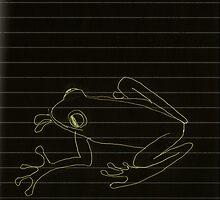 Frog by metrostation