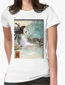 KOI GODDESS Womens Fitted T-Shirt