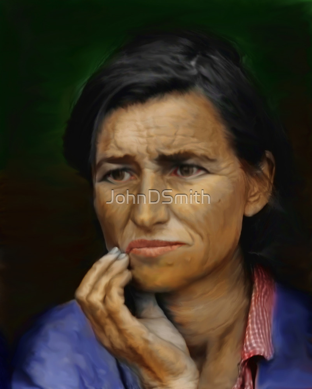 A mother`s Worry by JohnDSmith