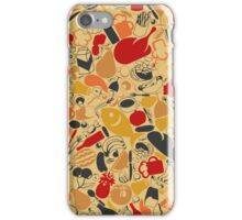 Food a background iPhone Case/Skin