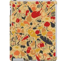 Food a background iPad Case/Skin