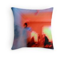 when fire meets ice Throw Pillow