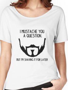 Seneca Crane Question Women's Relaxed Fit T-Shirt