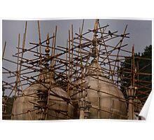 Bamboo Scaffolding Poster