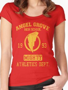 Angel Grove H.S. Women's Fitted Scoop T-Shirt