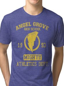 Angel Grove H.S. Tri-blend T-Shirt